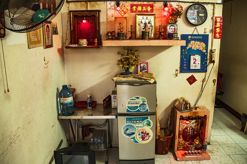 Living room in Cho Lon--Saigon