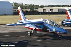 E114 2 F-TERR - E114 - Patrouille de France - French Air Force - Dassault-Dornier Alpha Jet E - RIAT 2010 Fairford - Steven Gray - IMG_8099