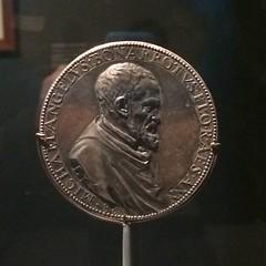 Michelangelo medal obverse