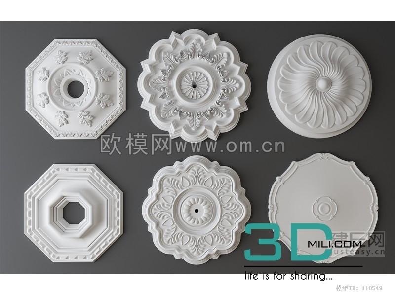 72  Decorative set - 3D Mili - Download 3D Model - Free 3D