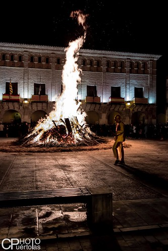 San Blas-Hoguera