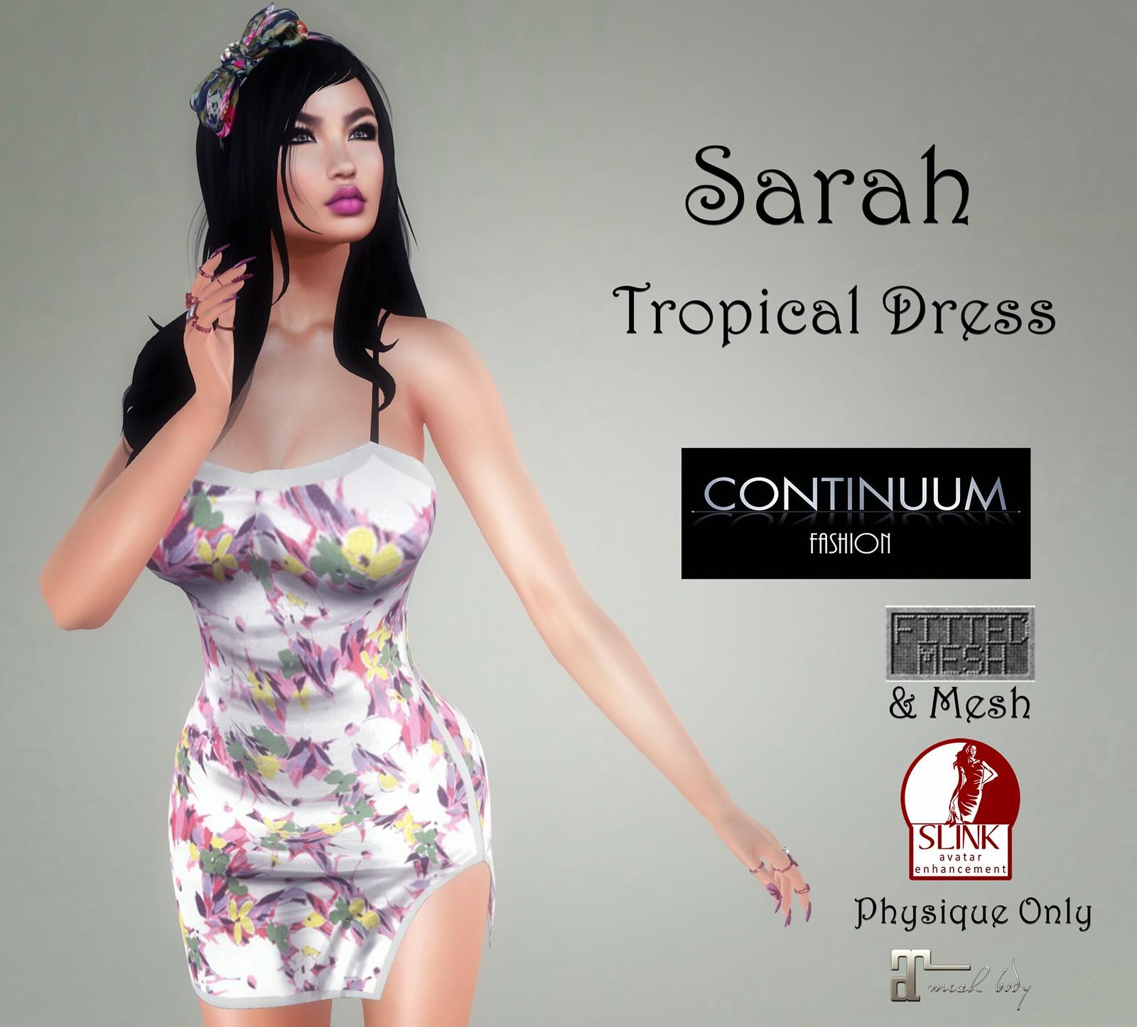 Continuum Sarah Tropical - PROMO 50% OFF - only @ Continuum Fashion Mainstore