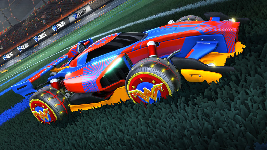Rocket League: DC Super Heroes DLC