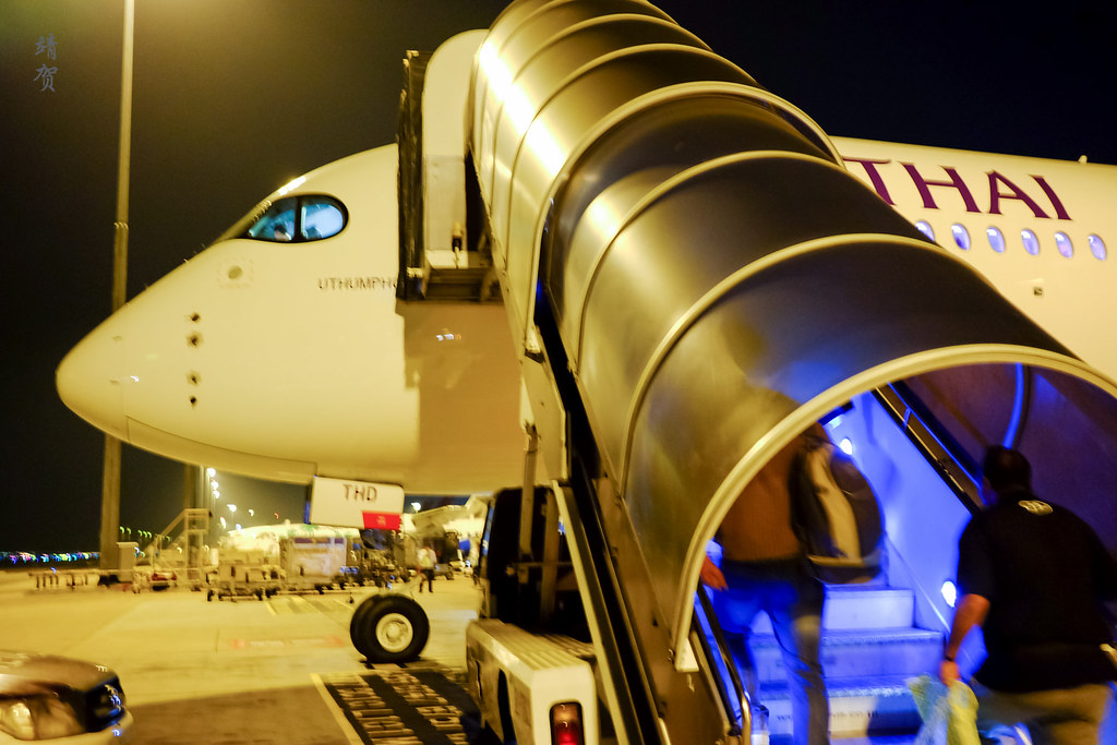 Boarding the A350
