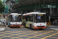 TCM buses on route 19 and 7 in Macau