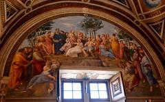 Ciudad del Vaticano. Estancia de La Signatura. El Parnaso. Rafael