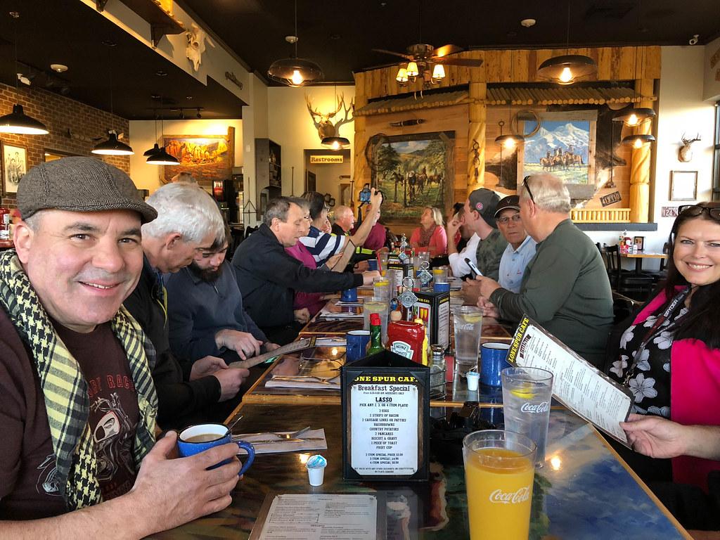 2018-02-11 2nd Sunday Breakfast @ Lone Spur Café