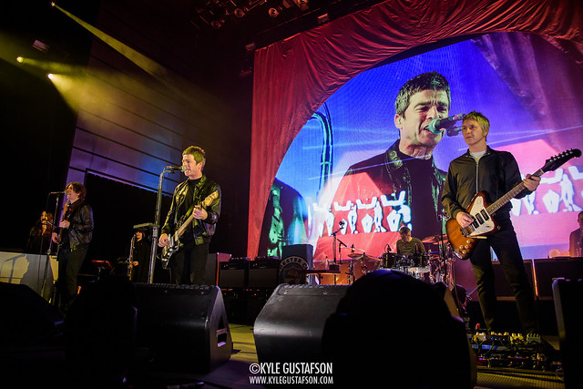 Noel Gallagher performs at The Anthem in Washington, D.C.