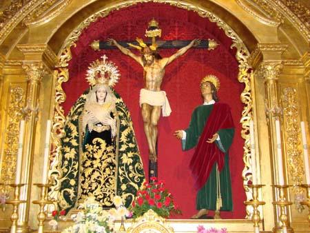 Fervorosa, Ilustre y Antigua Hermandad y Cofradía De Nazarenos del Santísimo Cristo de la Vera-Cruz y Nuestra Madre y Señora de la Piedad.