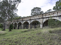 Greystanes Aqueduct, previously know as The Boothtown Aqueduct - built 1883 - SEE BELOW 1/4