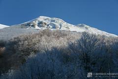 Monte Acuto in invernale per il sentiero Flo' (gruppo del monte Catria)