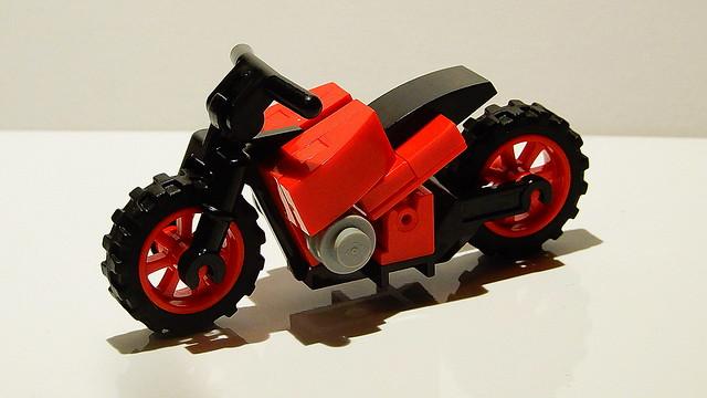 Lego Motorbike (MOC - 4K)