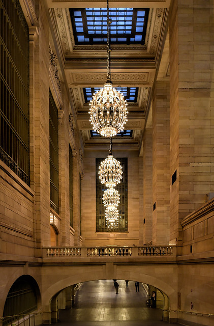 Walkway in Grand Central Station