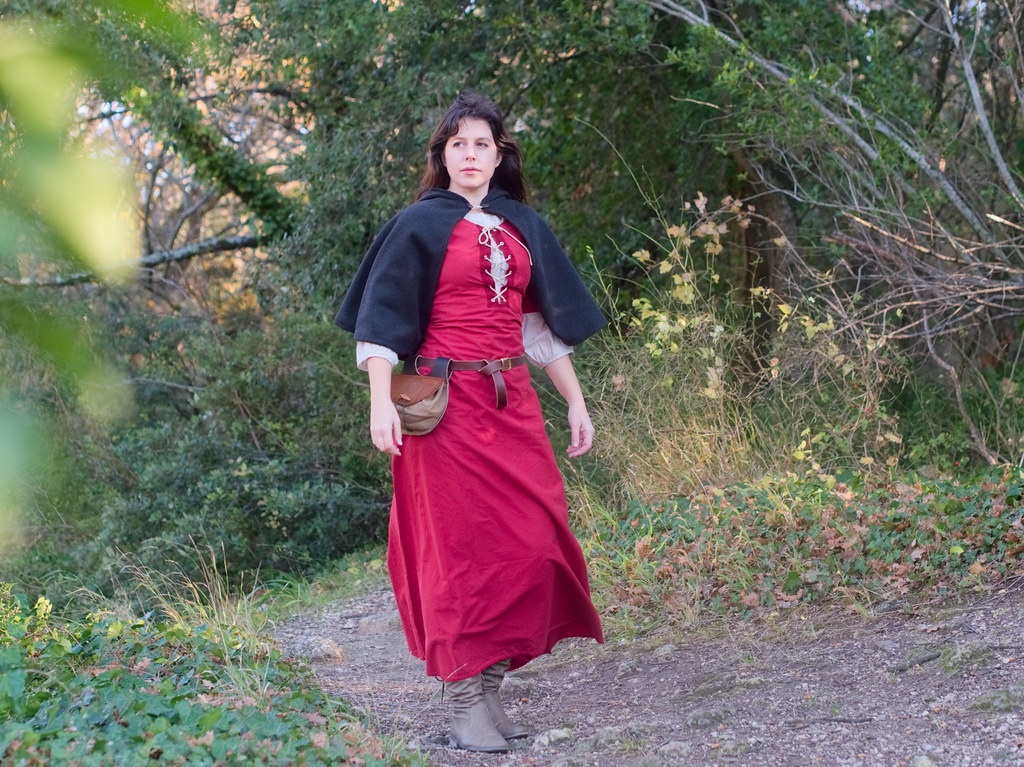 related image - Shooting Médiéval - Orena Costume - Val des Nymphes -2017-12-23- P1100696