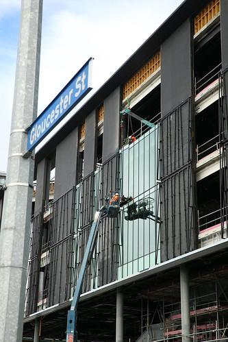 Tūranga (new Central Library) construction
