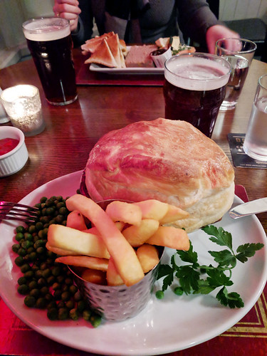 steak and ale pie @ Duke of Edinburgh