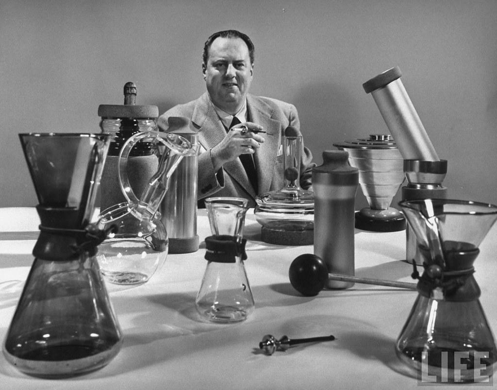 Schlumbohm và các bình Chemex