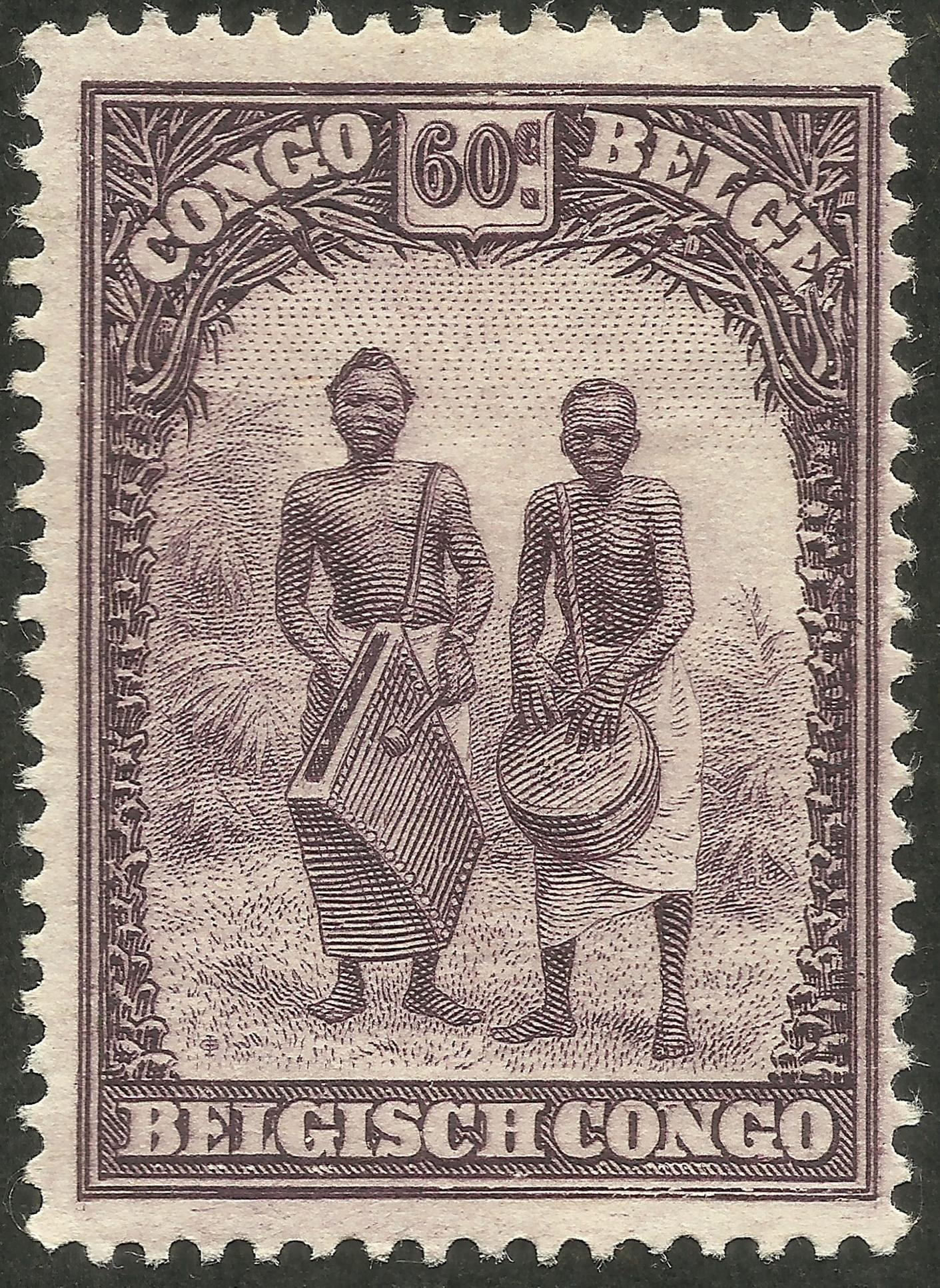 Belgian Congo - Scott #145 (1932)