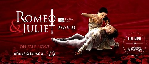 "Orlando Ballet presents ""Romeo and Juliet"""