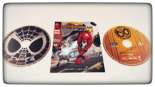 [STEELBOOK] (2017) - Spider-Man: Homecoming