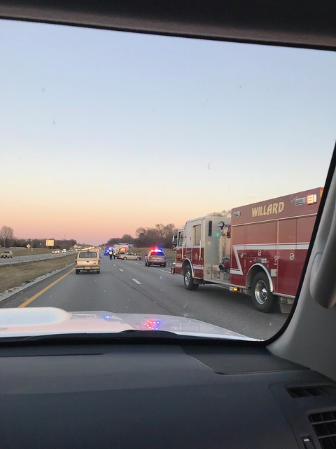 Travelling - collision near Springfield MO