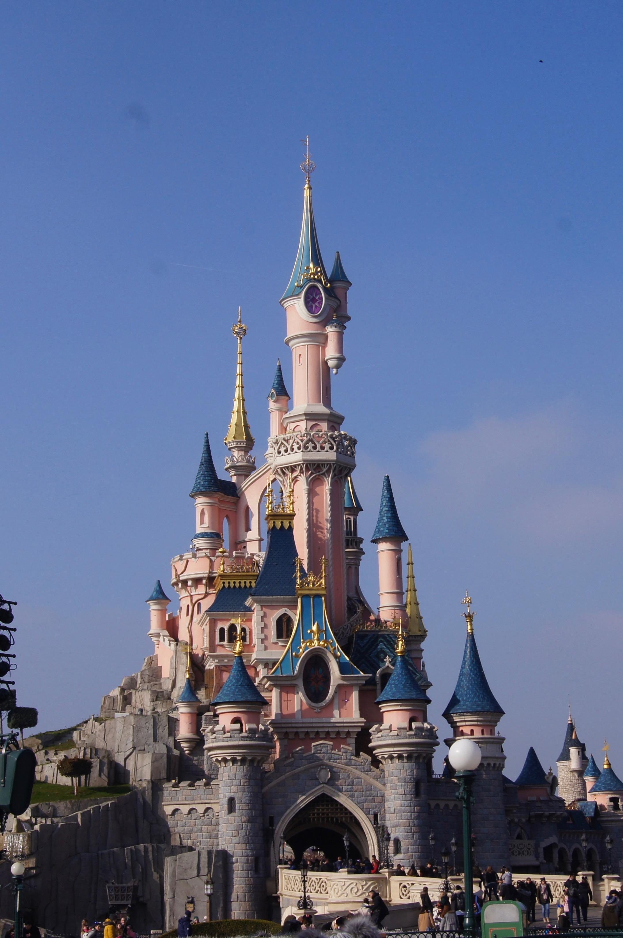 Disneyland Paris Trip - castle
