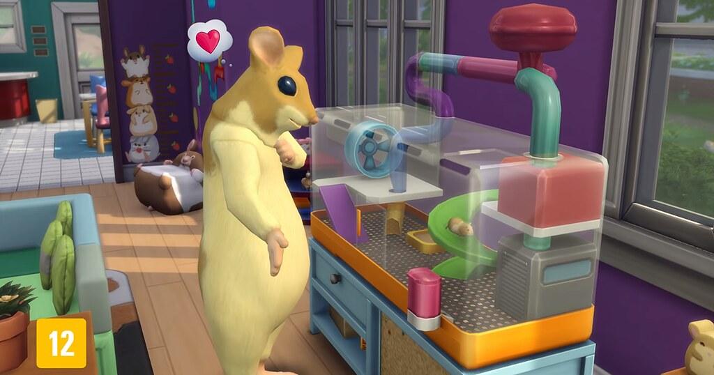 Foto de Disponibilizado Trailer Oficial do The Sims 4 Meu Primeiro Bichinho