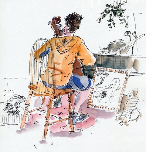 Sketchbook #111: Cello