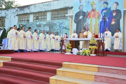 Lễ trạm Giáo hạt Qui Nhơn
