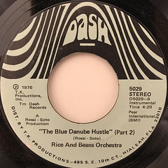RICE AND BEANS ORCHESTRA:THE BLUE DANUBE HUSTLE(LABEL SIDE-B)