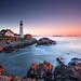 Portland Head Light - Cape Elizabeth Lighthouse, Maine by Christian Bobadilla