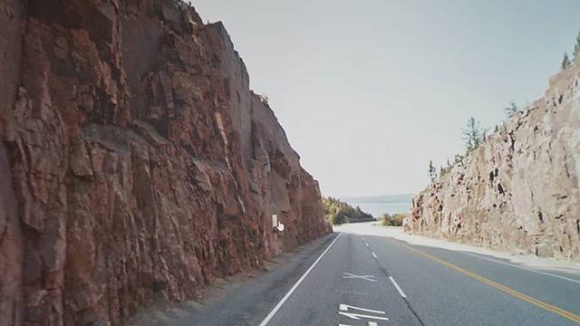 Sometimes I turn around to say goodbye to beauty. #ridingthroughwalls #xcanadabikeride #googlestreetview #ontario