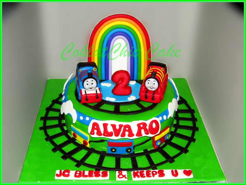 Cake Thomas the train ALVARO 15 cm