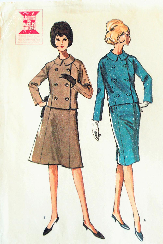 marchewkowa, blog, szycie, sewing, rękodzieło, handmade, moda, styl, vintage, retro, repro, 1950s, 1960s, Wrocław szyje, w starym stylu, McCall's 7055, old pattern, stary wykrój