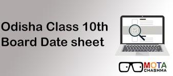 odisha board class 10