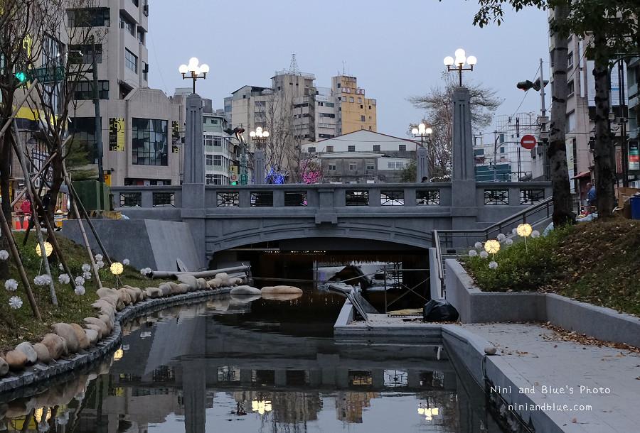 綠川水岸.小京都水岸.台中火車站01