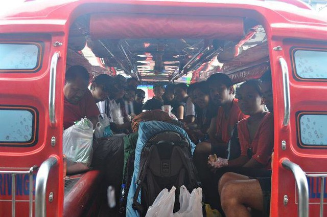 on our way to Mt. Napulak