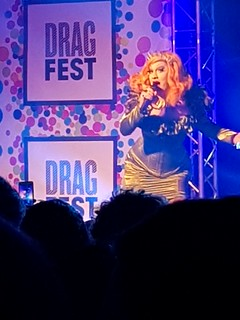 Jinkx at DragFest 2017