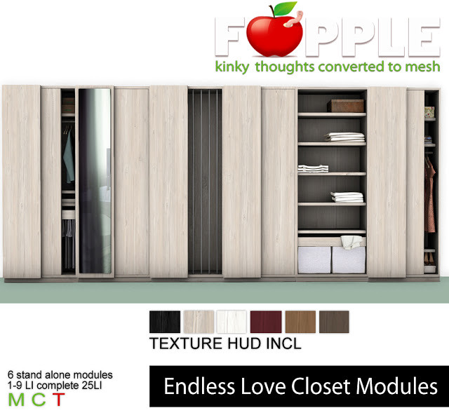Fapple - Endless Love Closets - TeleportHub.com Live!