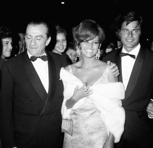 Vaghe Stelle dell'Orsa… - backstage 3 - Luchino Visconti, Claudia Cardinale, Jean Sorel