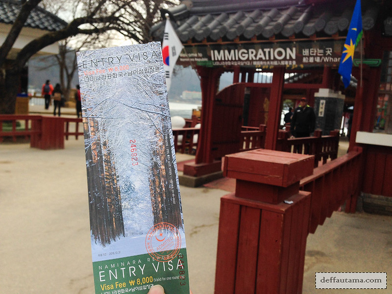 Nami Island - Ticket