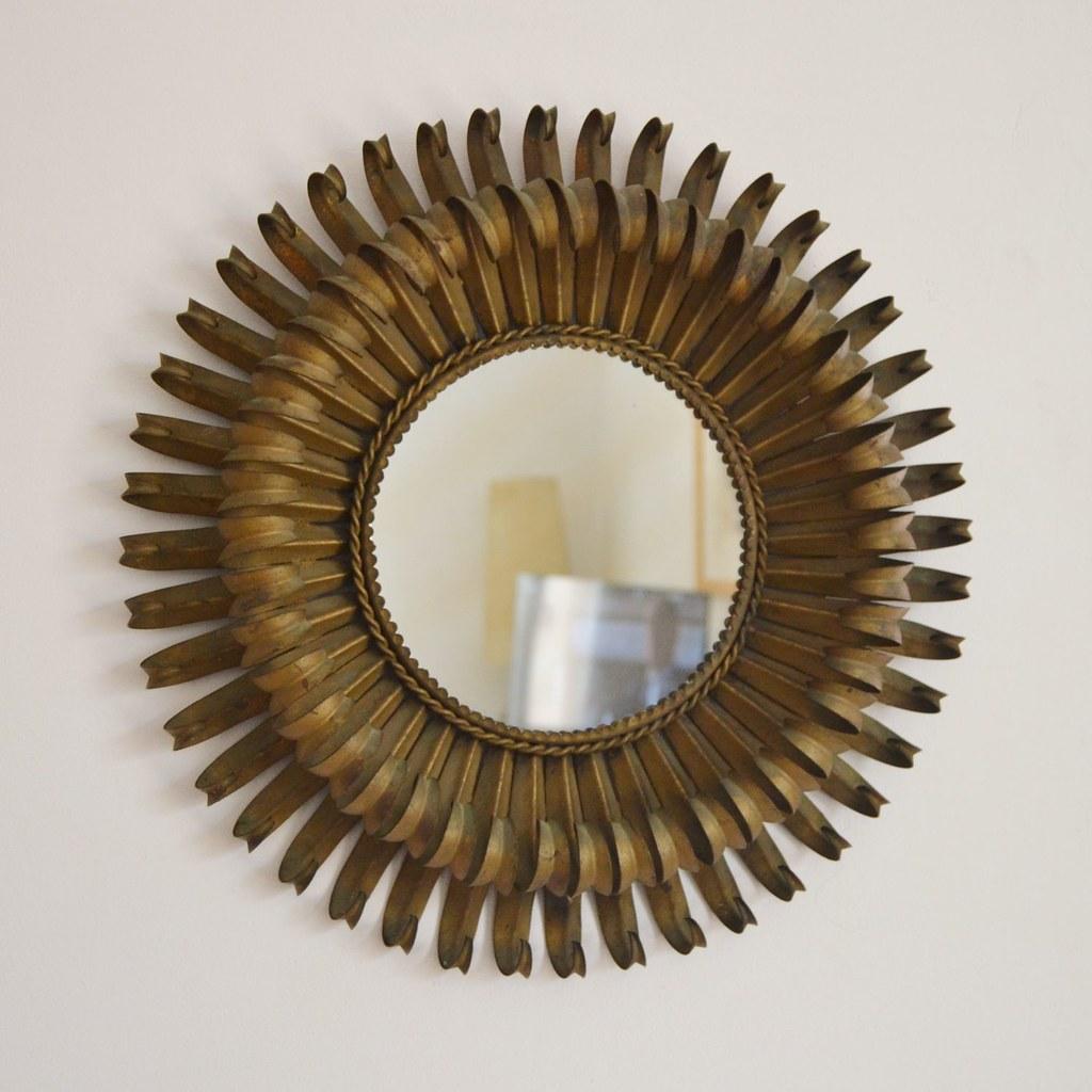 chaty vallauris rare mod le miroir soleil vers 1960 ebay. Black Bedroom Furniture Sets. Home Design Ideas