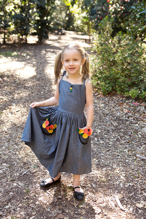 Trashy Diva Rockabilly Baby Spring Bud Dress in Embroidery in Bloom