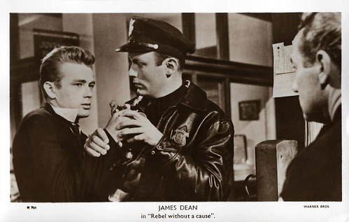 James Dean in Rebel Without a Cause (1955)