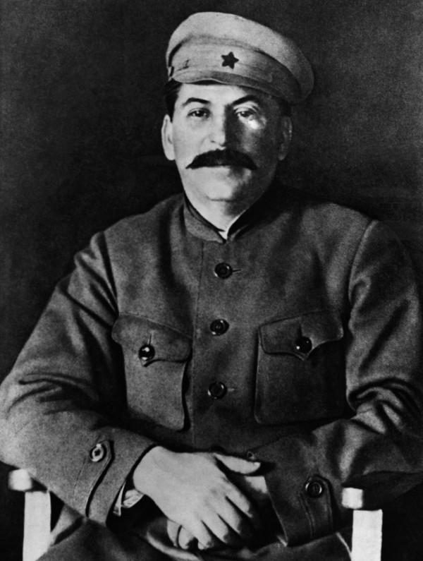 Портрет Иосифа Сталина в кителе