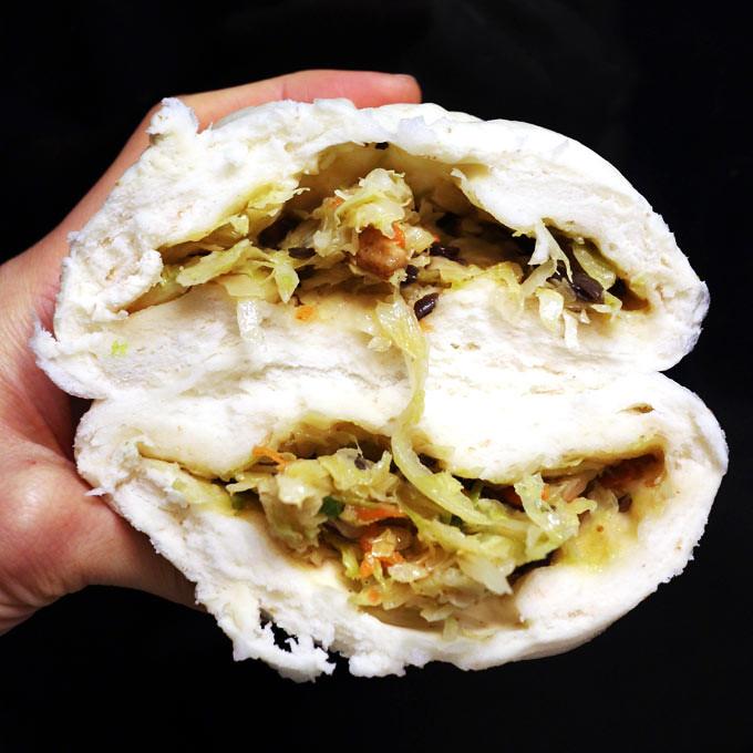 六津素包_高麗菜包 抹茶紅豆包 6jin-vegetarian-buns-cabbage-matcha (6)