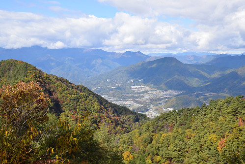 View from Mt. Takahata