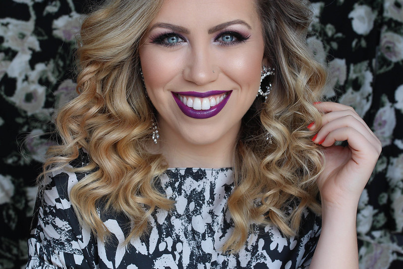 Ultra Violet Monochromatic Makeup Tutorial Easy Beauty Look