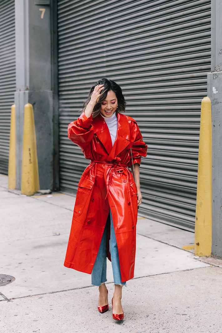 Best Street Style at New York Fashion Week Fall 2018 trend street style fashion outfit 20187