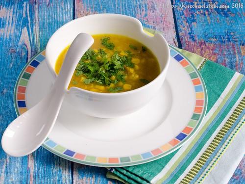 Maissuppe mit Reis und Ingwer (1)
